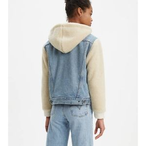 Levi's sheep fabric jeans jacket